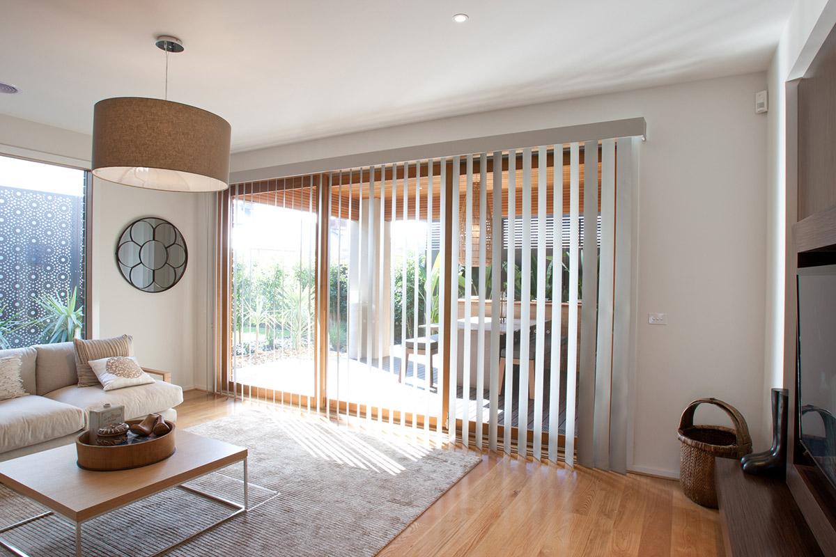cortinas bandas verticales uruguay